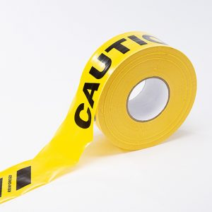 reinforced caution tape