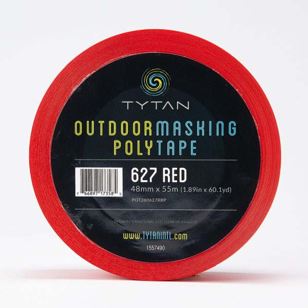 outdoor masking poly tape