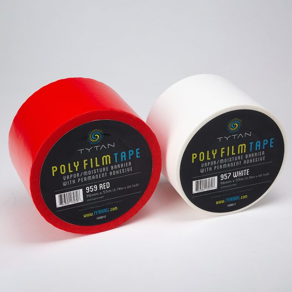 poly film vapor barrier tape