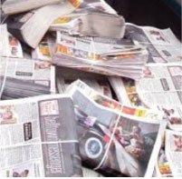newpaper bands