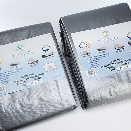 heavy duty silver tarps